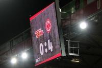 Partystimmung beim Frankfurter Anhang: 4:0 beim 1. FC Union Berlin