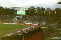 Zu Gast bei Eintracht Frankfurt im Waldstadion, 1992/93