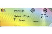Tennis Borussia Berlin vs. 1. FC Union Berlin 2000/01