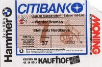 1. FC Köln vs. SV Werder Bremen