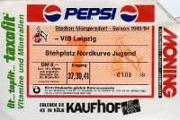 1. FC Köln vs. VfB Leipzig, 1993/94