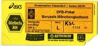 Borussia Mönchengladbach vs. Karlsruher SC, 1993/94