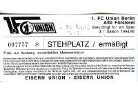1. FC Union Berlin vs. FC Berlin 1994/95