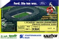 1. FC Köln vs. Bayer 04 Leverkusen 1995/96