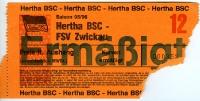 Hertha BSC vs. FSV Zwickau, 1995/96