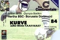 Hertha BSC vs. Borussia Dortmund 1998/99