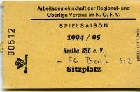 Hertha BSC / Amateure vs. FC Berlin (BFC Dynamo)