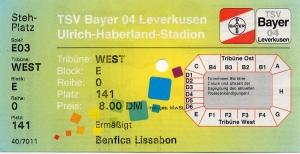 Bayer 04 Leverkusen vs. Benfica Lissabon