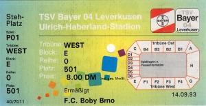 Bayer 04 Leverkusen vs. Boby Brno
