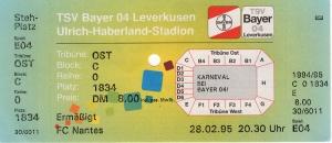 Bayer 04 Leverkusen vs. FC Nantes