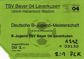 Bayer 04 Leverkusen vs. FCK