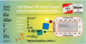 Bayer 04 Leverkusen vs. Panathinaikos