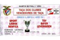 Benfica Lissabon vs. Bayer 04 Leverkusen 01.03.1994