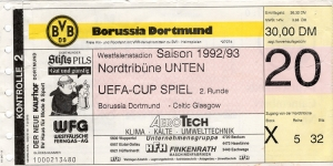 Borussia Dortmund vs. Celtic Glasgow