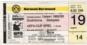 Borussia Dortmund vs. Floriana FC