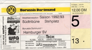 Borussia Dortmund vs. Hamburger SV