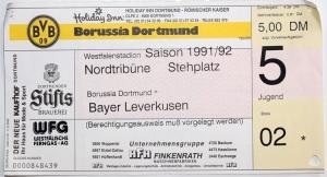 Borussia Dortmund vs. TSV Bayer 04 Leverkusen