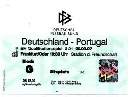 Deutschland vs. Portugal (U21)