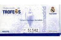 Eintrittskarte für das Museum von Real Madrid