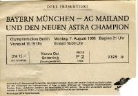 FC Bayern München vs. AC Mailand, Opel Cup 1995