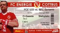 FC Energie Cottbus II vs. BFC Dynamo
