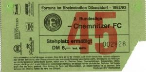 Fortuna Düsseldorf vs. Chemnitzer FC