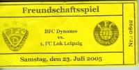 Freundschaftsspiel BFC Dynamo vs. 1. FC Lok Leipzig