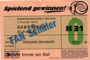 Hannover 96 vs. SC Freiburg