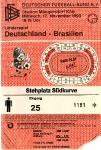 Länderspiel Deutschland vs. Brasilien, 17.11.1993