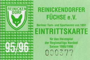 Reinickendorfer Füchse vs. 1. FC Union Berlin