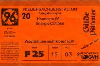 Relegationsspiel Hannover 96 vs. FC Energie Cottbus