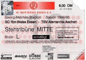 Rot-Weiss Essen vs. Alemannia Aachen