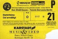 Rot-Weiss Essen vs. Tennis Borussia Berlin