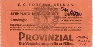 SC Fortuna Köln vs. SV Waldhof Mannheim