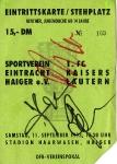 SV Eintracht Haigar vs. 1. FC Kaiserslautern