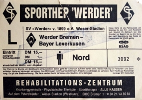 SV Werder Bremen vs. TSV Bayer 04 Leverkusen