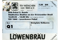 TSV 1860 München vs. TSV Bayer 04 Leverkusen