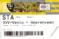 VVV Venlo gegen SC Heerenveen