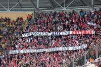 Anhängerschaft des FC Energie Cottbus in Dresden
