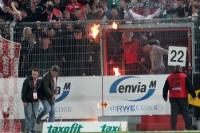 brennende Dynamo-Schals