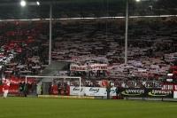 Fans des FC Energie Cottbus beim Spiel gegen Dresden
