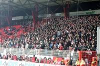 Fans / Ultras des FC Energie Cottbus zu Gast beim 1. FC Union, 02.12.2011