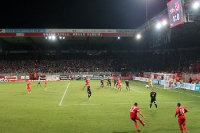 Der FC Energie Cottbus zu Gast beim 1. FC Union Berlin im Stadion An der Alten Försterei