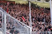 St. Pauli-Fans im Stadion der Freundschaft