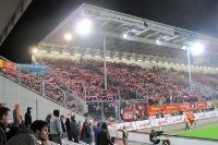 Union-Fans im Stadion der Freundschaft