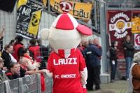 Lauzi, Maskottchen des FC Energie Cottbus