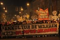 Fan-Demo von Union Berlin und FCK