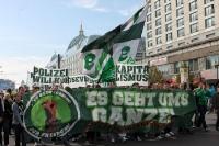 Fans des SV Werder Bremen sammeln sich zur Fandemo