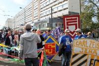 Fandemo zum Erhalt der Fankultur in Berlin 2010