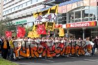 Fans von Dynamo Dresden sammeln sich zur Fandemo 2010